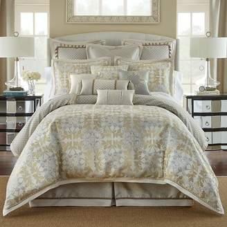 Waterford Olivette Leaf Motif Comforter Set, Queen