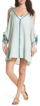 Pitusa Mini Ottoman Cover-Up Dress