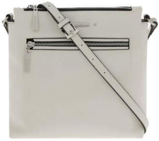 Basque NEW Avery Zip Top Crossbody Bag Beige