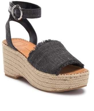 Dolce Vita Lesley Espadrille Platform Wedge Sandal