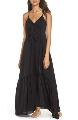 Elan International Maxi Cover-Up Dress