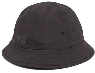 0421894e01749 Y-3 Y 3 Logo Print Bucket Hat - Mens - Black
