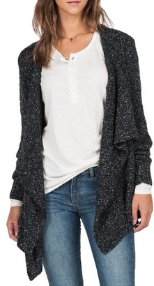 Women's Volcom 'Channeling' Drape Front Cardigan $69.50 thestylecure.com