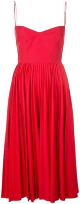 DAY Birger et Mikkelsen Khaite pleated skirt midi dress