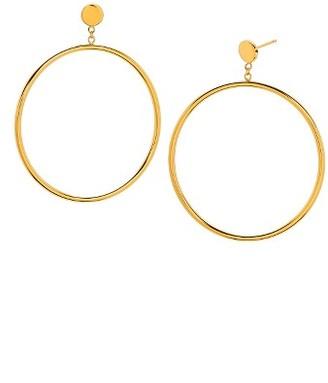 Women's Gorjana Autumn Circle Drop Hoop Earrings $60 thestylecure.com