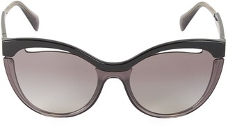 Miu Miu 60MM Browline Sunglasses