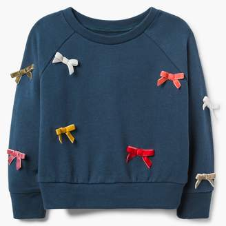Gymboree Velvet Bow Sweatshirt