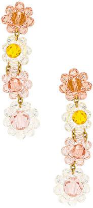 For Love & Lemons Bouquet Beaded Earrings