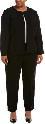 Tahari by Arthur S. Levine Tahari Asl Plus 2Pc Jacket & Pant Set
