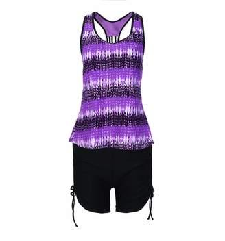 e29ee428356b9 Putars clothes Putars Women Plus Size Bikini Swimwear Push-Up Padded Print  Swimsuit Beachwear