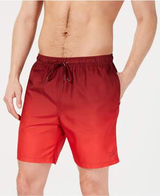 """Calvin Klein Men Gradient 7"""" Volley Swim Trunks"""