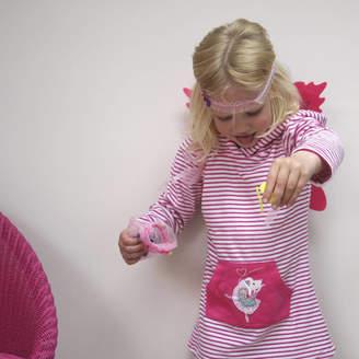 Little Ella James Ballerina Towelling Hooded Top