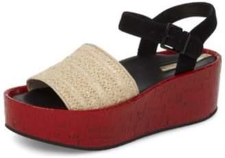 Kenneth Cole New York Multicolor Platform Sandal