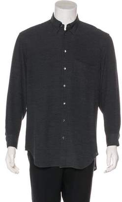 Giorgio Armani Check Button-Up Shirt