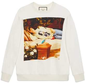 Gucci Oversize #GucciHallucination sweatshirt