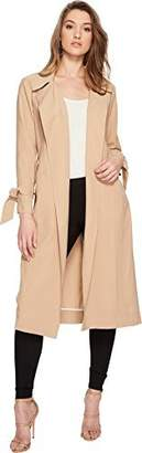 1 STATE 1.STATE Women's Belted Trench Coat