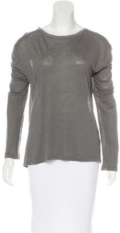 Alexander Wang T by Alexander Wang Oversized Long Sleeve Top