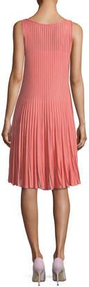 Gentry Portofino Sleeveless Pleated Swing Dress