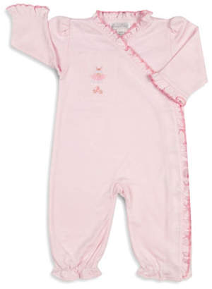 Kissy Kissy Tiny Tutus Embroidered Coverall