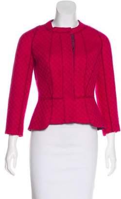Louis Vuitton Wool Tweed Jacket