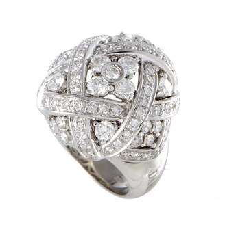 Damiani 18K 1.60 Ct. Tw. Diamond Ring