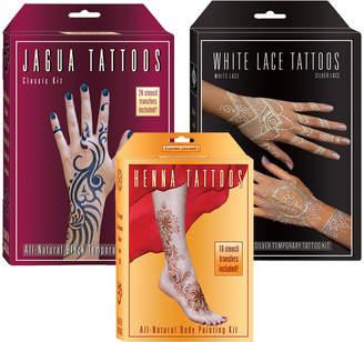 Lakaye Studio All Natural Temporary Tattoos Set 1