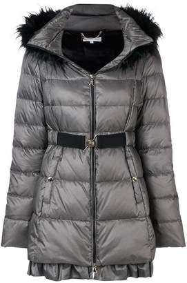 Patrizia Pepe belted puffer coat