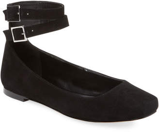 Karl Lagerfeld Paris Tiona Leather Ballet Flat