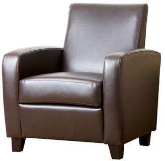 Abbyson Living Nancy Leather Club Chair