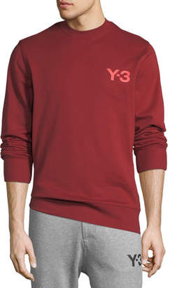 Y-3 Men's Classic Cotton Terry Sweater with Logo