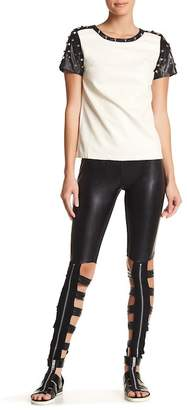 TOV Cutout Zip Detail Legging $70.76 thestylecure.com