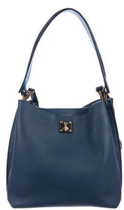 MCM Leather Milla Hobo gold Leather Milla Hobo