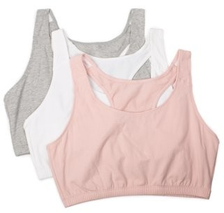 Fruit of the Loom Womens Tank Style Sports Bra, Style 9012, 3-Pack