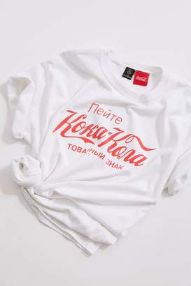 Urban Outfitters Russian Coca-Cola Tee