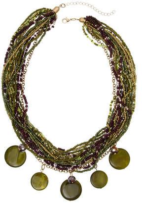 MIXIT Mixit 6.25 Mixit Color Beaded Necklace