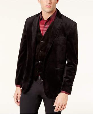 Alfani Men's Velvet Two-Button Blazer, Created for Macy's