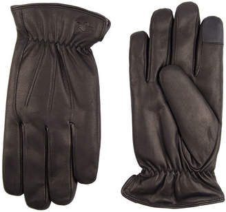 Dockers Mens Leather Cold Weather Gloves