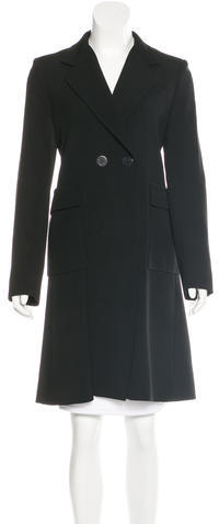 Balenciaga Balenciaga Double-Breasted Virgin Wool Coat