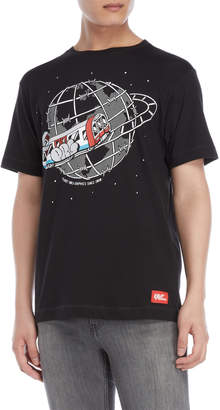Planet Rock Graphics Train Travel Tee
