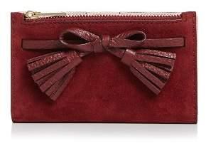 Kate Spade Hayes Street Suede Leather Wallet