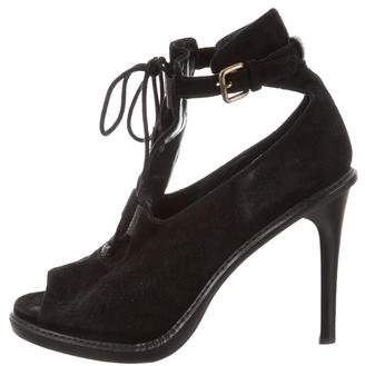 Derek Lam Peep-Toe Cutout Booties