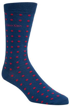 Calvin Klein Dots Crew Socks
