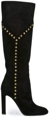 Saint Laurent 'Grace 105' studded boots