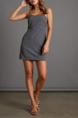 Cotton Candy Plaid Mini Dress