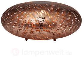 Formschöne Tischleuchte Stardust Ufo Antique