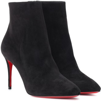 Christian Louboutin Eloise 85 suede boots
