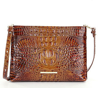 BRAHMIN Brahmin Toasted Almond Collection Remy Cross-Body Bag $225 thestylecure.com