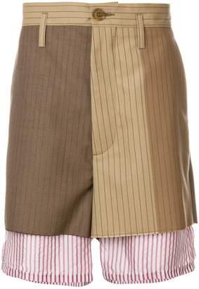 Marni underlayer detail shorts