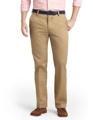 Izod Men's American Chino Slim-Fit Wrinkle-Free Flat-Front Pants