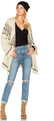 Chaser Drape Front Open Cardigan $108 thestylecure.com